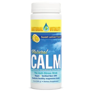 Natural Calm Sweet Lemon Flavor