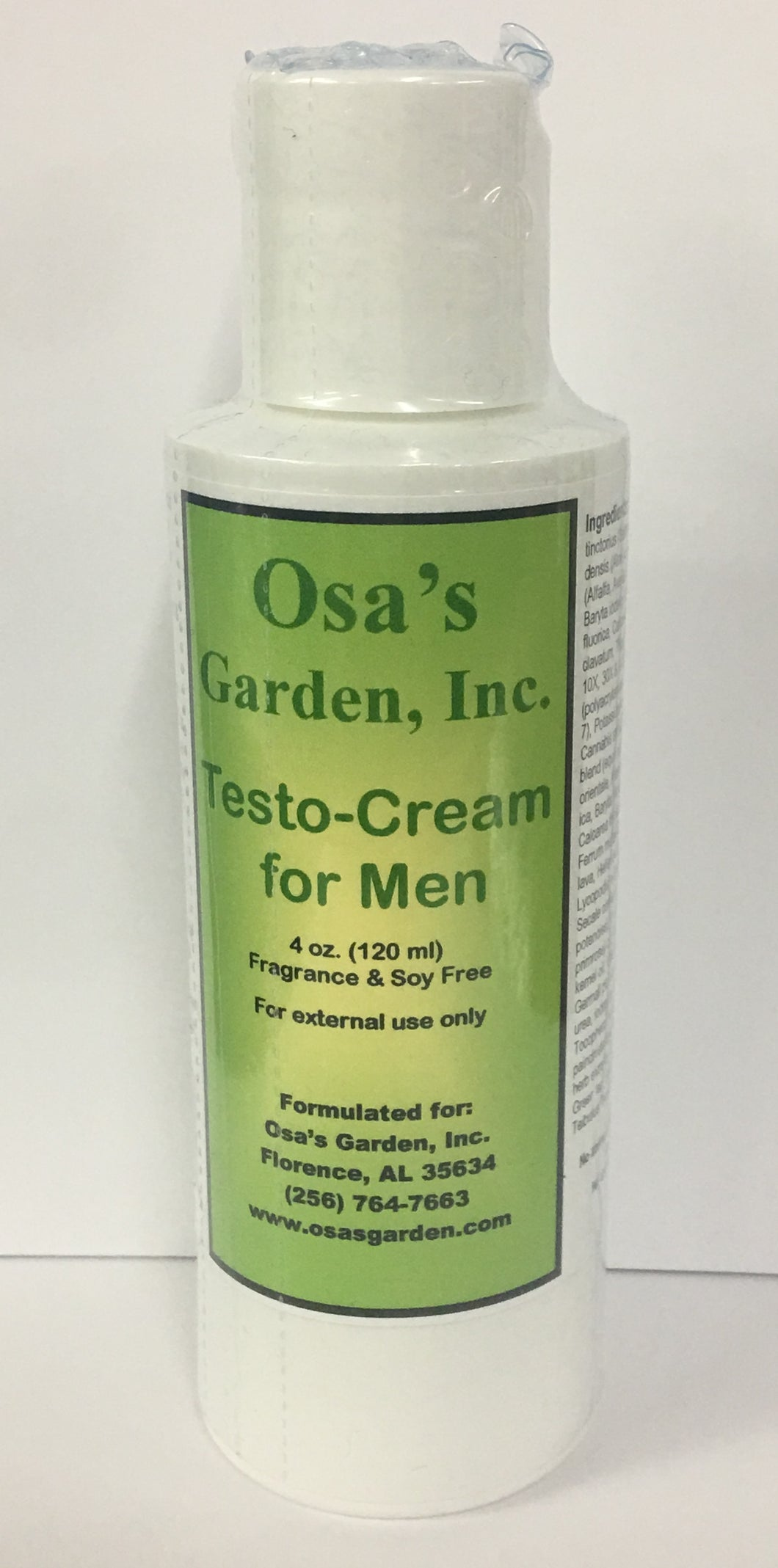 Testo-Cream for Men