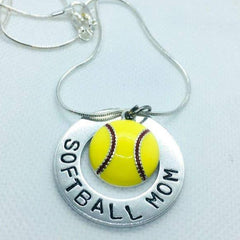 Assorted Sports Mom Necklace