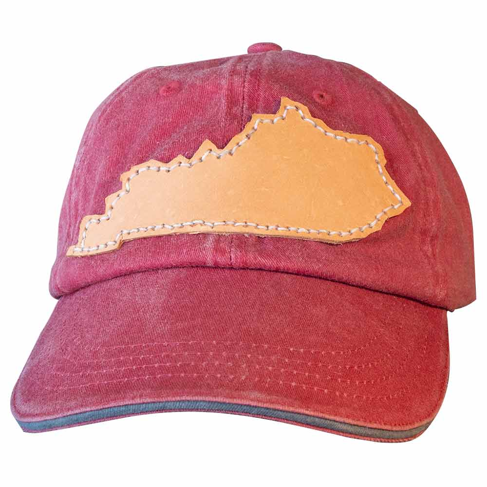 Rustic Chic Leather Patch Baseball Cap