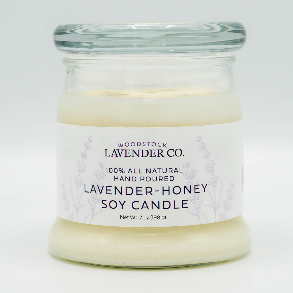 Lavender and Honey Candle, 7 oz.