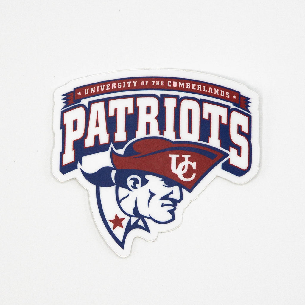 Patriots University of the Cumberlands Original Die Cut Sticker