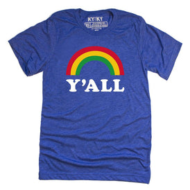 Y'all Rainbow T-shirt