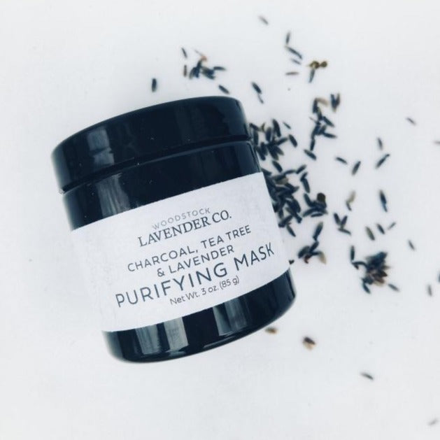 Purifying Lavender Face Mask with Charcoal
