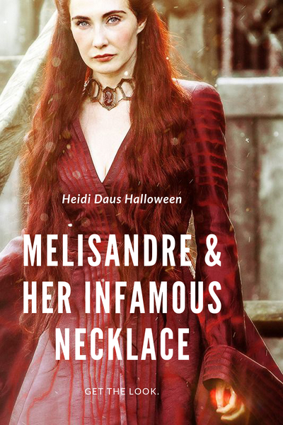 Heidi Daus Halloween: Melisandre From Game Of Thrones
