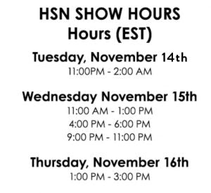 HSN Show Hours