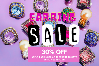 Get 30% OFF Earrings