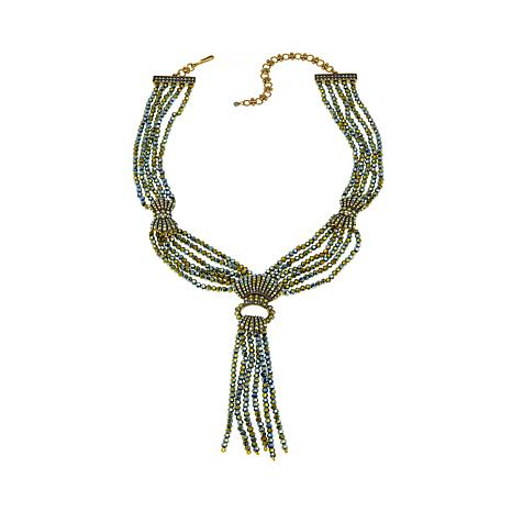 Upper East Side Tassel Drop Necklace