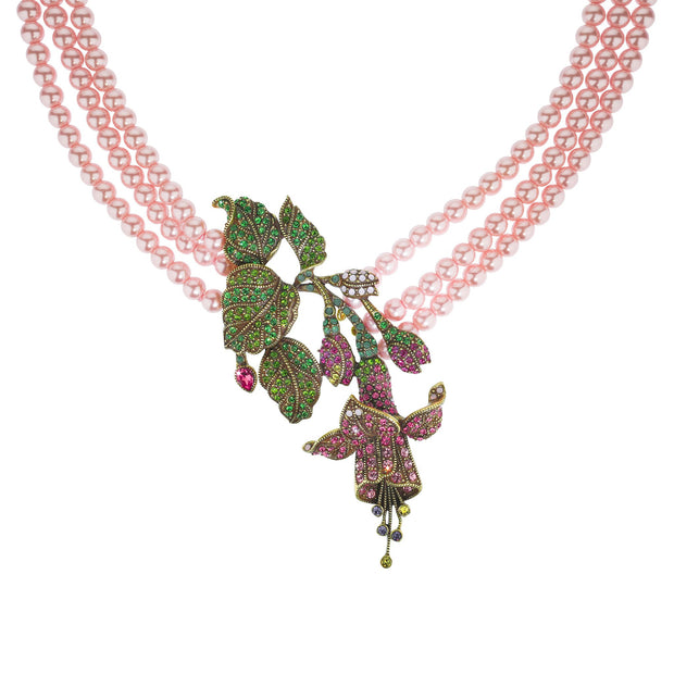 Stargazer Chic Beaded Crystal Necklace - Heidi Daus®