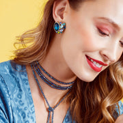 "HEIDI DAUS® ""Vintage Classic"" Crystal Deco Earrings - Heidi Daus®"