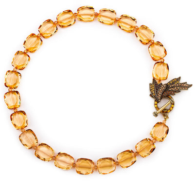 "HEIDI DAUS® ""Perennial Beauty"" Crystal Nugget Toggle Necklace - Heidi Daus®"