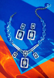 "Heidi Daus®""Thoroughly Modern"" Enamel Beaded Crystal Necklace - Heidi Daus®"