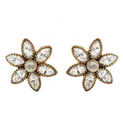 """Holiday Star"" Crystal Button Earrings - Heidi Daus®"