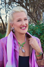 "HEIDI DAUS®""Couture Tulip"" Beaded Crystal Tulip Necklace - Heidi Daus®"