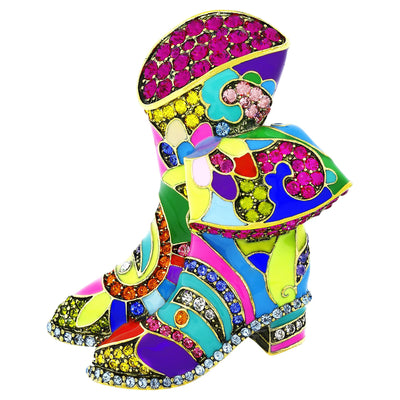 "HEIDI DAUS® ""Rodeo Rhapsody"" Enamel and Crystal Pin - Heidi Daus®"