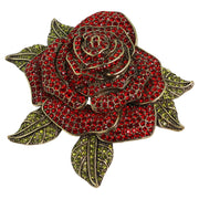"HEIDI DAUS®""Ravishing Rose"" Crystal Flower Pin - Heidi Daus®"