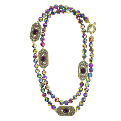 "HEIDI DAUS® ""Everlasting Elegance"" Crystal Toggle Necklace - Heidi Daus®"