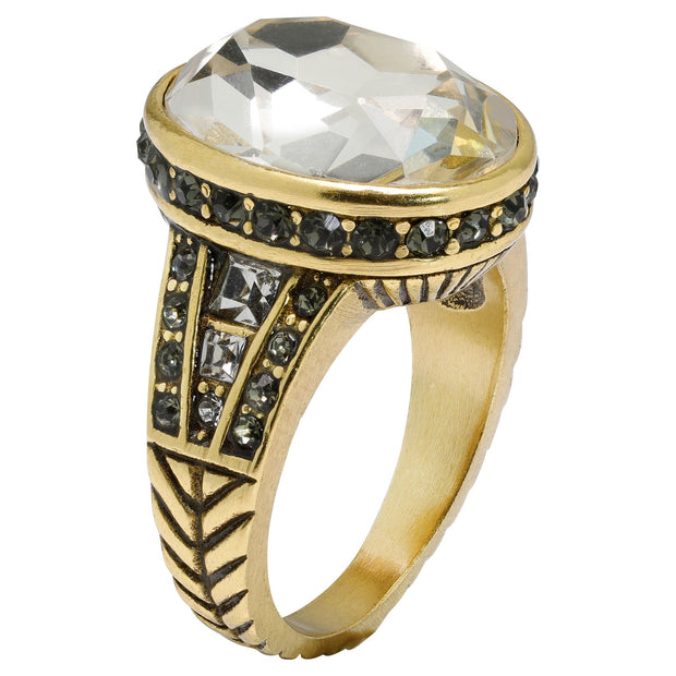 """Super Chic"" Crystal Ring - Heidi Daus®"