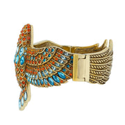 "HEIDI DAUS®""Goddess of the Sky"" Crystal Bangle Bird Bracelet - Heidi Daus®"