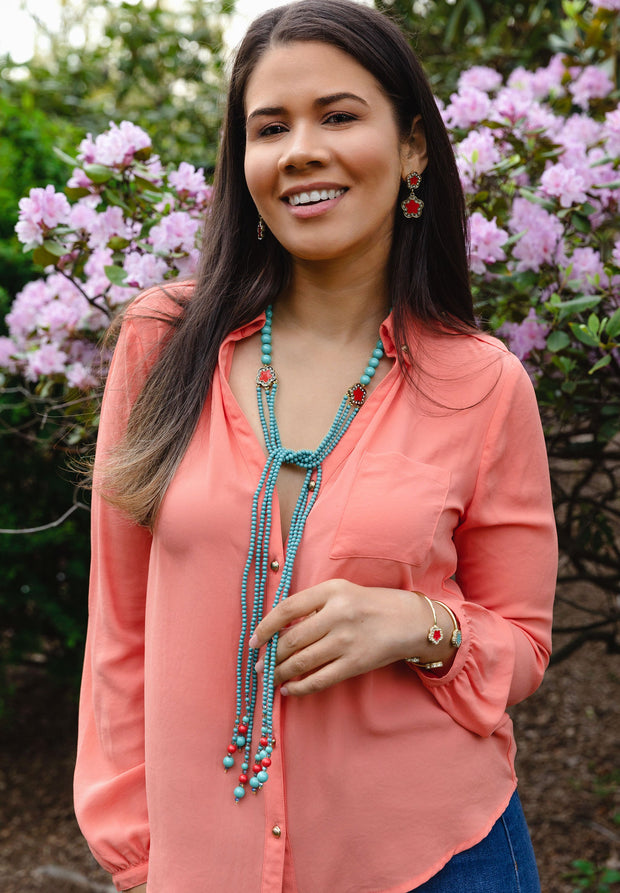 """Easy Does It"" Grand Lariat Necklace - Heidi Daus®"
