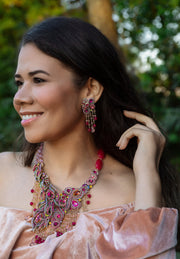 """Fire and Ice"" Crystal Beaded Necklace - Heidi Daus®"