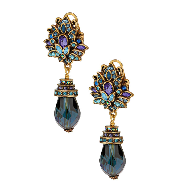 "HEIDI DAUS® ""Montana Beauty"" Crystal Drop Earrings - Heidi Daus®"