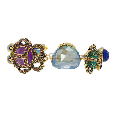 "HEIDI DAUS® ""Love Bug"" Crystal Beaded Toggle Beetle Bracelet - Heidi Daus®"
