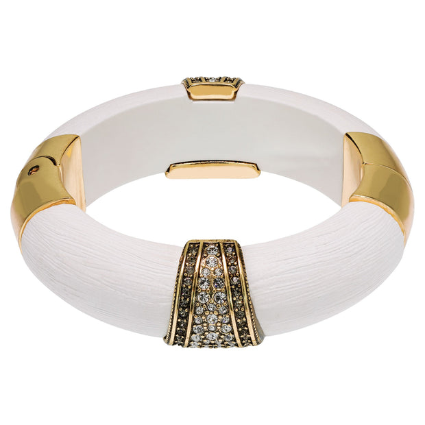 """Say It With Style"" Crystal Stackable Bangle Bracelet - Heidi Daus®"