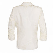 "HEIDI DAUS® ""Beautiful Brocade"" Ruched Sleeve Power Blazer - Heidi Daus®"
