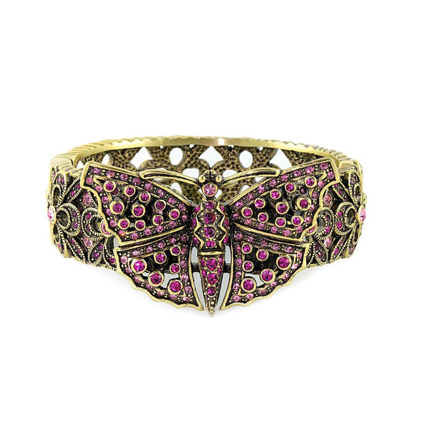 """Monarch Madness"" Crystal Butterfly Bracelet - Heidi Daus®"