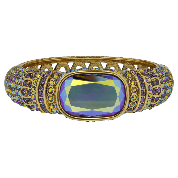 "HEIDI DAUS®""Single Hit"" Crystal Bangle Bracelet - Heidi Daus®"