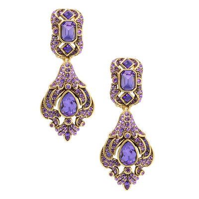 "HEIDI DAUS® ""Opposites Attract"" Crystal Drop Earrings - Heidi Daus®"