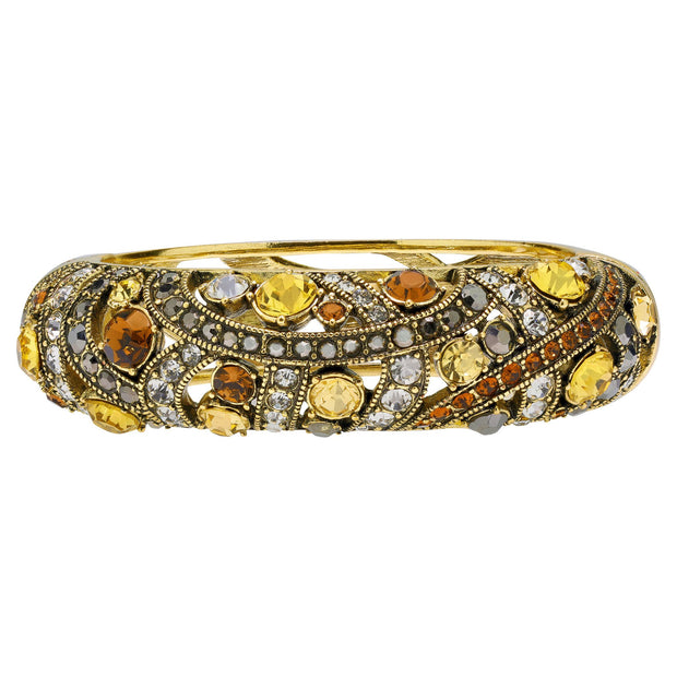 """Perfect Bracelet"" Crystals Bangle Bracelet - Heidi Daus®"