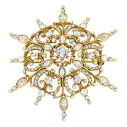 "HEIDI DAUS® ""Winter Wonder"" Crystal Snowflake Pin - Heidi Daus®"