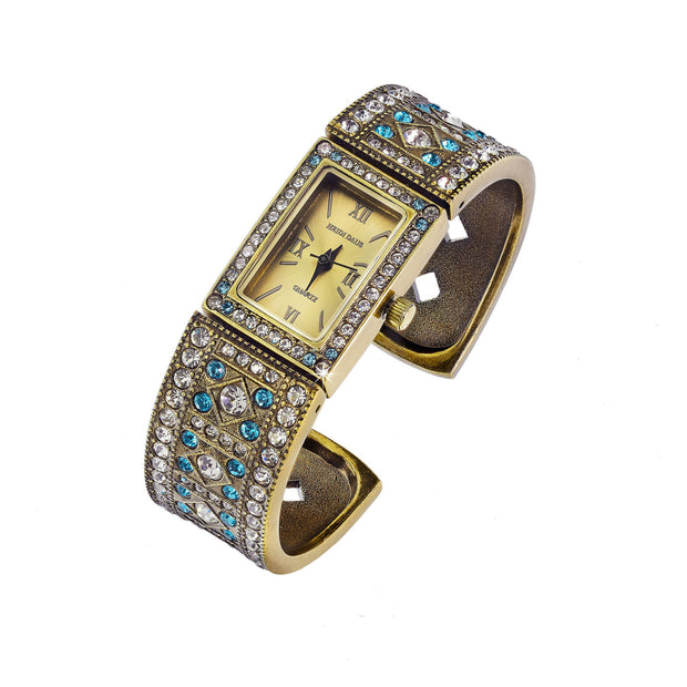 "HEIDI DAUS® ""Moments In Time"" Crystal Bangle Watch - Heidi Daus®"