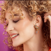 "HEIDI DAUS® ""Aztique"" Crystal Drop Earrings - Heidi Daus®"