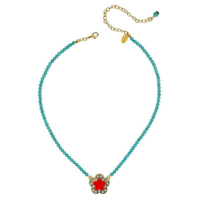 """Petite Easy Does It"" Crystal Beaded Necklace - Heidi Daus®"
