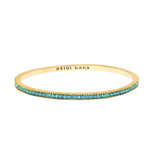 "Heidi DausÃ'® ""Infinite Elegance"" Crystal Stackable Slim Bangle Bracelet - Heidi Daus®"