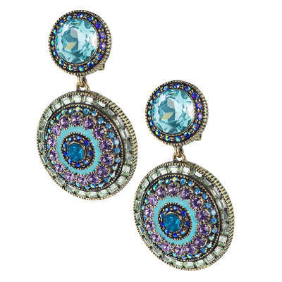 "HEIDI DAUS®""Ravishing Rapture"" Crystal Drop Earrings - Heidi Daus®"