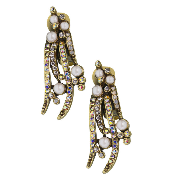 "HEIDI DAUS®""Warm Embrace"" Beaded Crystal Drop Earring - Heidi Daus®"