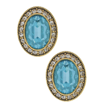 "HEIDI DAUS® ""Dazzling Delight"" Crystal Button Earrings - Heidi Daus®"