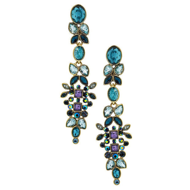 "HEIDI DAUS®""Opposites Attract"" Crystal Dangle Earrings - Heidi Daus®"