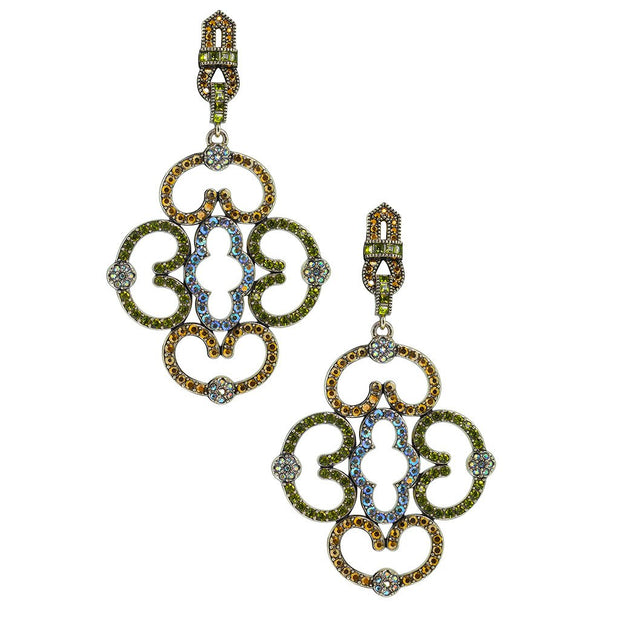 "HEIDI DAUS® ""Entrance Maker"" Crystal Statement Earring - Heidi Daus®"