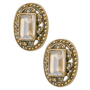 "HEIDI DAUS®""Couture Culture"" Crystal Button Earrings - Heidi Daus®"