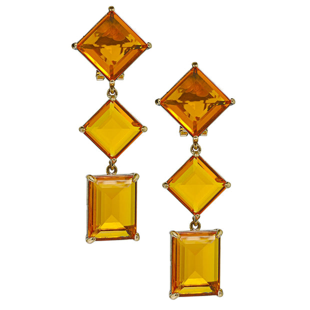 "HEIDI DAUS®""Hot Rocks"" Crystal Drop Earrings - Heidi Daus®"