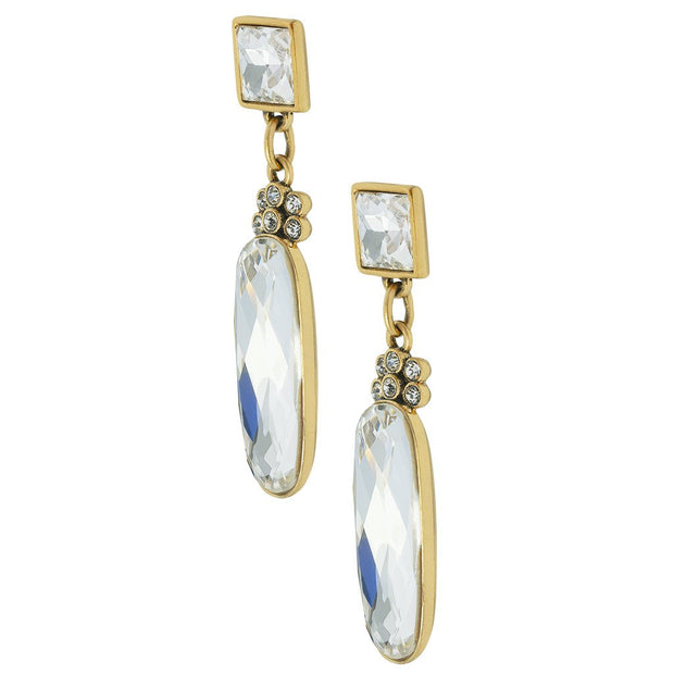 "HEIDI DAUS®""Long Overdue"" Crystal Drop Earrings - Heidi Daus®"