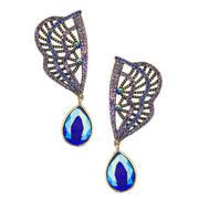 "HEIDI DAUS®""Collar Couturier"" Crystal Deco Drop Earrings - Heidi Daus®"