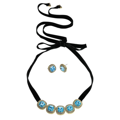 "HEIDI DAUS® ""Captivating Cushion"" Necklace and Earring Set - Heidi Daus®"