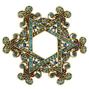 "HEIDI DAUS® ""Star of David"" Crystal Celebration Star Pin - Heidi Daus®"