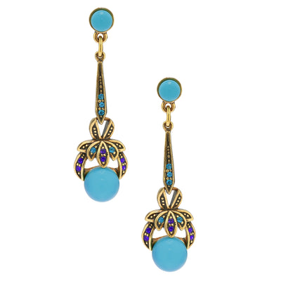 """Masterful Combination"" Beaded Crystal Dangle Earring - Heidi Daus®"
